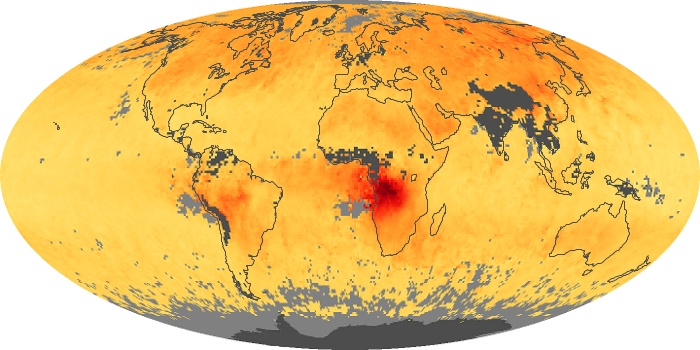 Global Map Carbon Monoxide Image 78