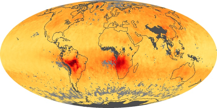Global Map Carbon Monoxide Image 79