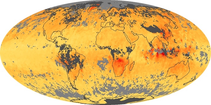 Global Map Carbon Monoxide Image 80