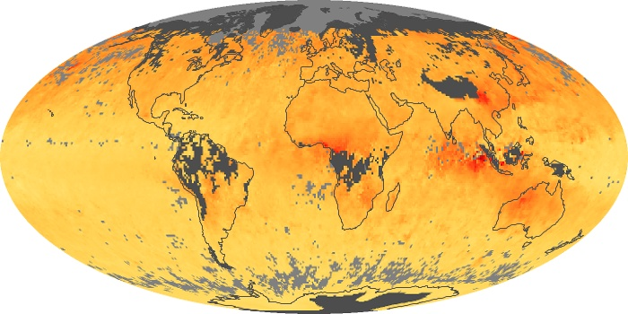 Global Map Carbon Monoxide Image 81