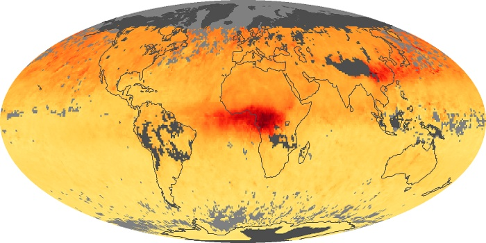 Global Map Carbon Monoxide Image 83