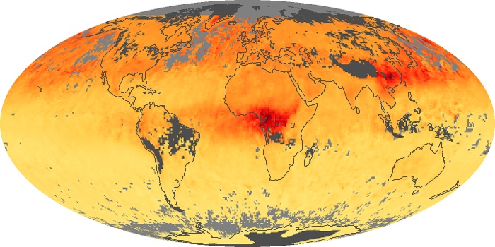 Global Map Carbon Monoxide Image 84