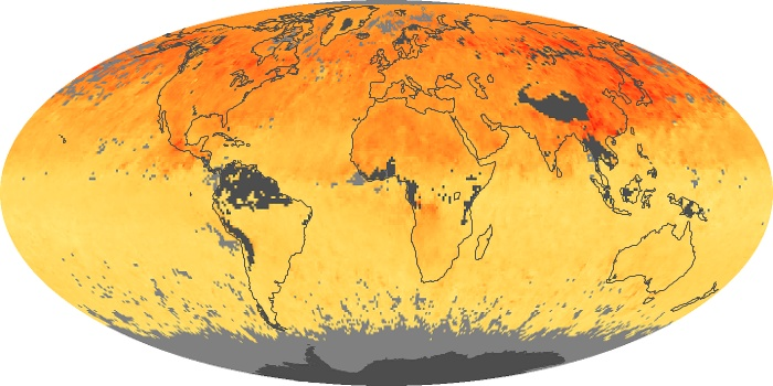 Global Map Carbon Monoxide Image 87
