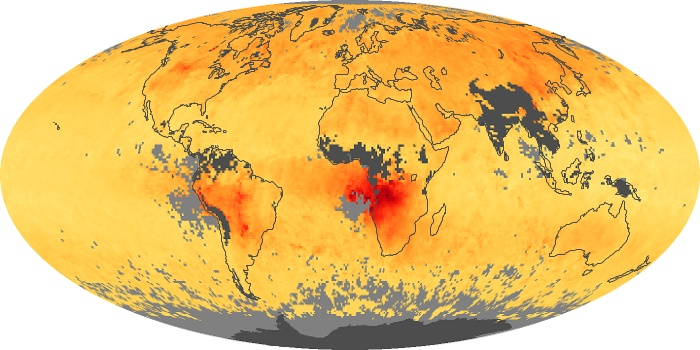 Global Map Carbon Monoxide Image 90