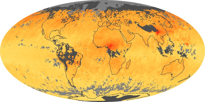 Global Map Carbon Monoxide Image 93