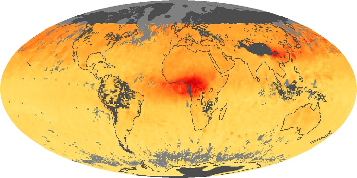 Global Map Carbon Monoxide Image 18