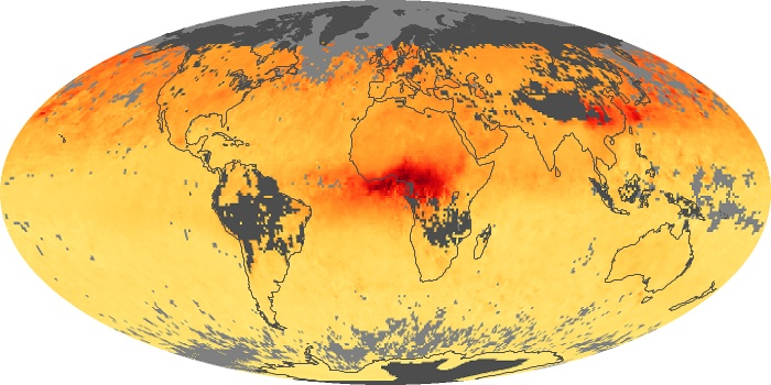 Global Map Carbon Monoxide Image 19