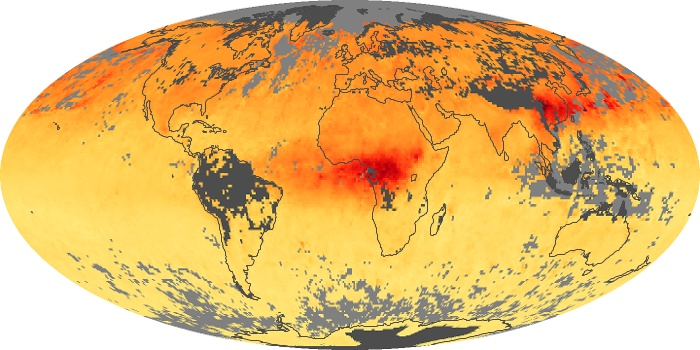 Global Map Carbon Monoxide Image 96