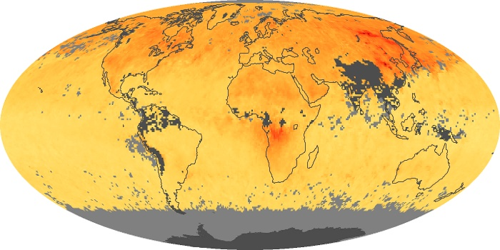 Global Map Carbon Monoxide Image 100