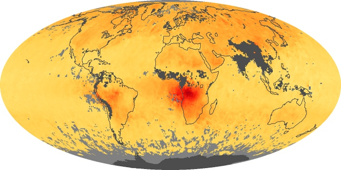 Global Map Carbon Monoxide Image 102