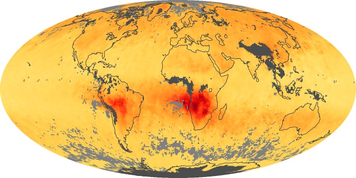 Global Map Carbon Monoxide Image 103