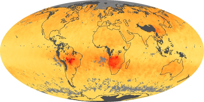 Global Map Carbon Monoxide Image 104