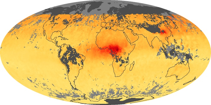 Global Map Carbon Monoxide Image 106