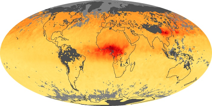 Global Map Carbon Monoxide Image 31