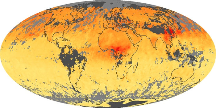 Global Map Carbon Monoxide Image 108