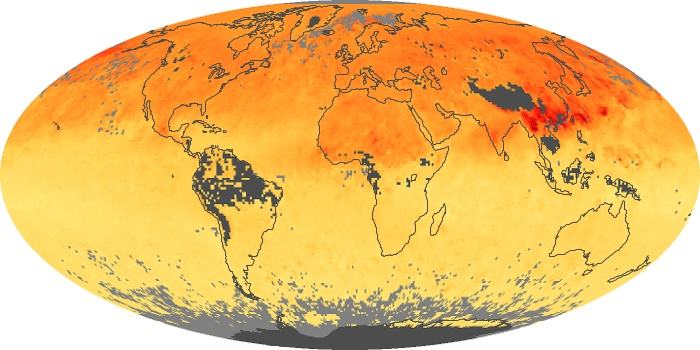 Global Map Carbon Monoxide Image 110