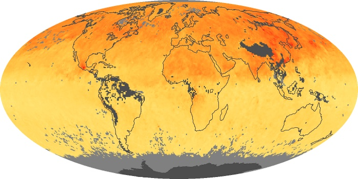 Global Map Carbon Monoxide Image 111