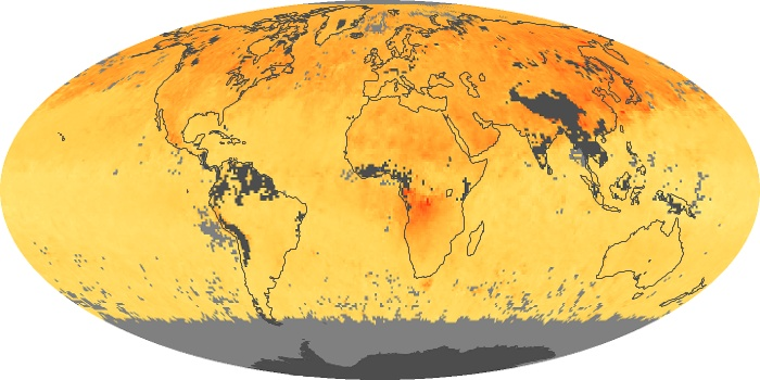 Global Map Carbon Monoxide Image 112
