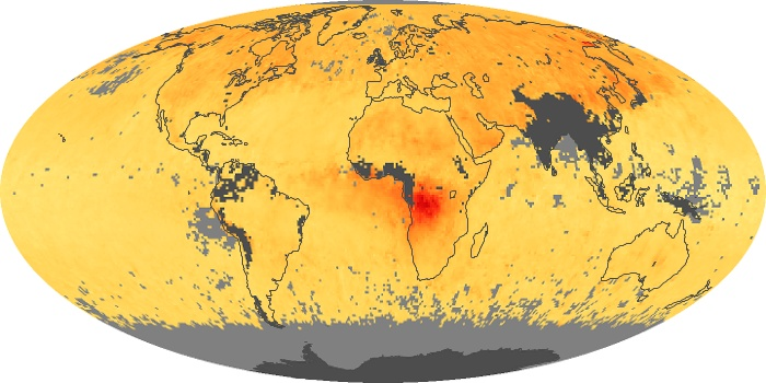 Global Map Carbon Monoxide Image 113