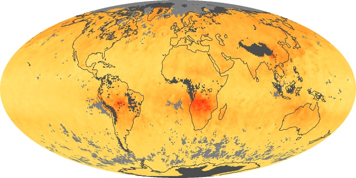 Global Map Carbon Monoxide Image 116