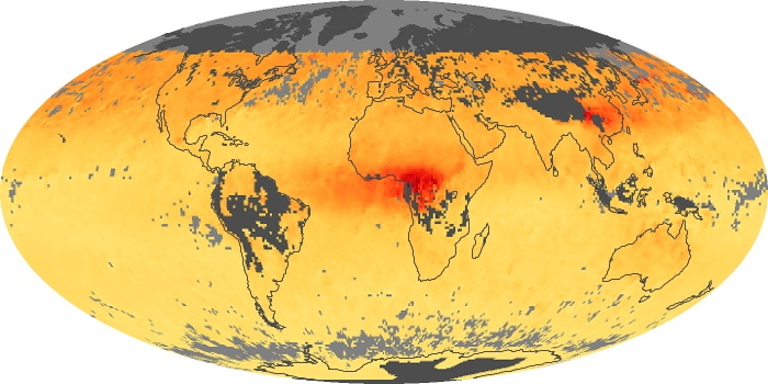 Global Map Carbon Monoxide Image 118