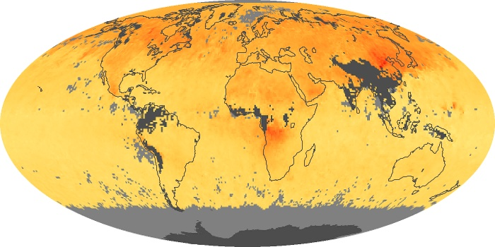 Global Map Carbon Monoxide Image 124