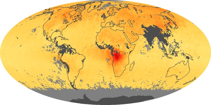 Global Map Carbon Monoxide Image 125