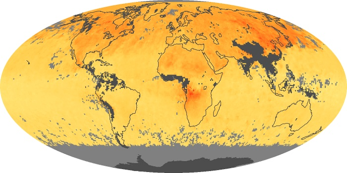 Global Map Carbon Monoxide Image 136