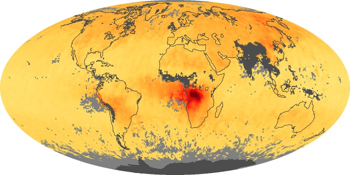 Global Map Carbon Monoxide Image 138