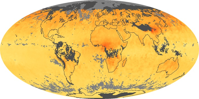Global Map Carbon Monoxide Image 141