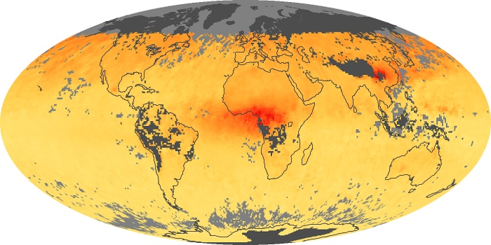 Global Map Carbon Monoxide Image 142