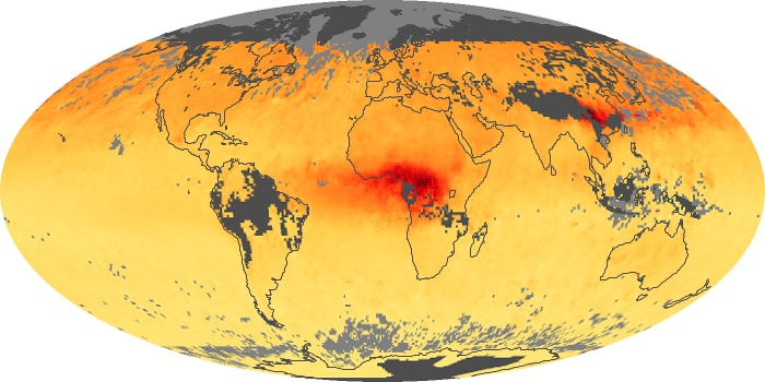 Global Map Carbon Monoxide Image 143