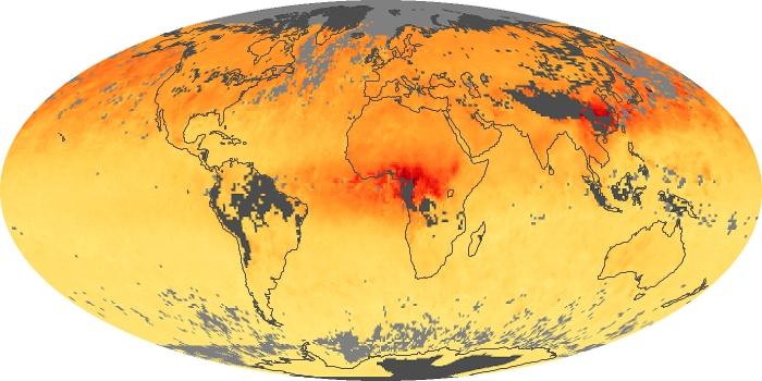 Global Map Carbon Monoxide Image 144