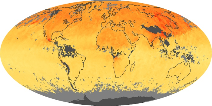 Global Map Carbon Monoxide Image 147