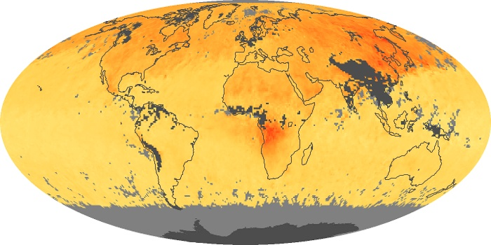 Global Map Carbon Monoxide Image 148