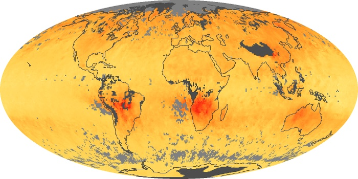Global Map Carbon Monoxide Image 152