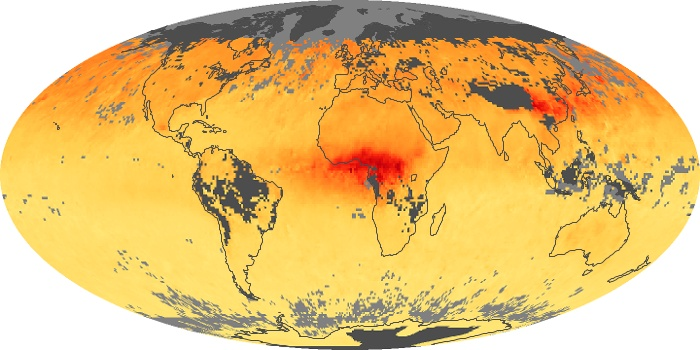 Global Map Carbon Monoxide Image 155