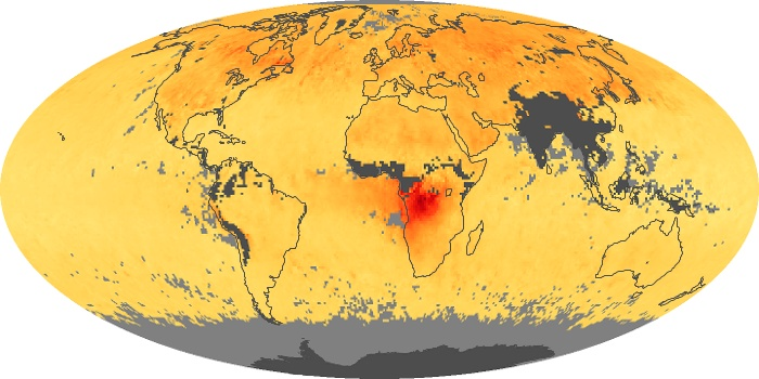 Global Map Carbon Monoxide Image 161