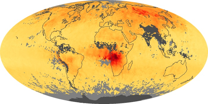 Global Map Carbon Monoxide Image 162