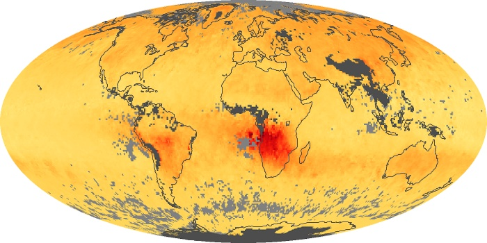Global Map Carbon Monoxide Image 163