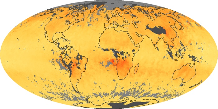 Global Map Carbon Monoxide Image 164