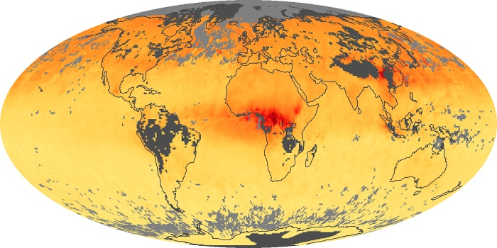 Global Map Carbon Monoxide Image 168