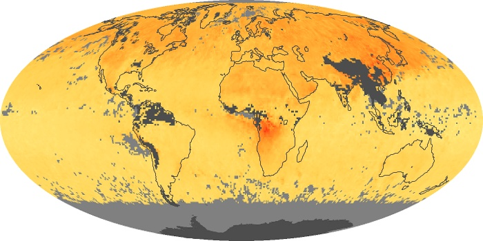 Global Map Carbon Monoxide Image 172