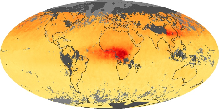 Global Map Carbon Monoxide Image 179