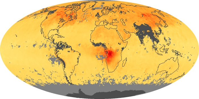 Global Map Carbon Monoxide Image 185