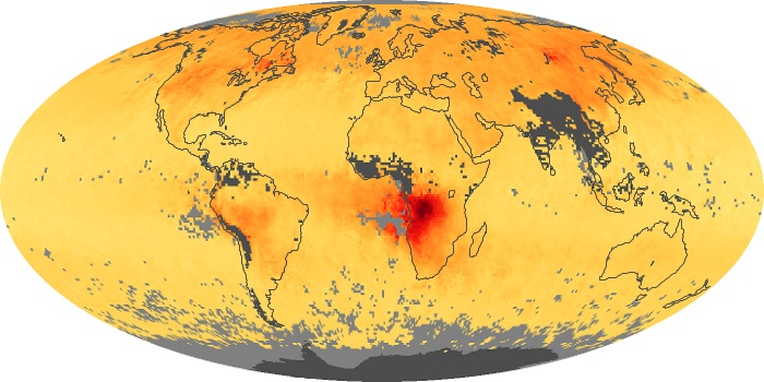 Global Map Carbon Monoxide Image 186