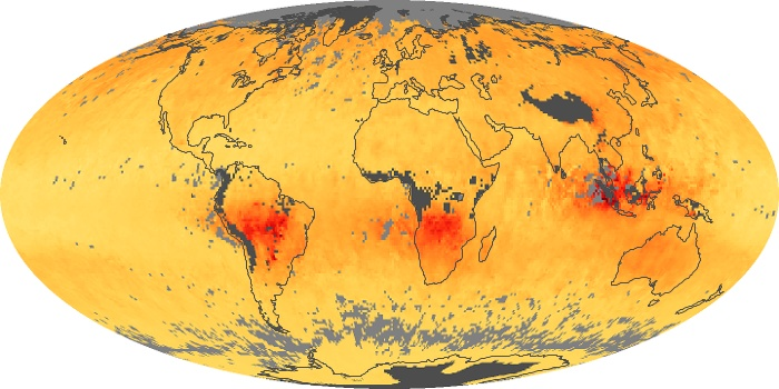 Global Map Carbon Monoxide Image 188