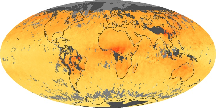 Global Map Carbon Monoxide Image 189