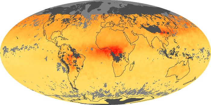 Global Map Carbon Monoxide Image 190