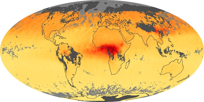Global Map Carbon Monoxide Image 191